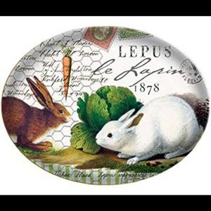 Michel design 🚭 works rabbit bunny soap glas dish